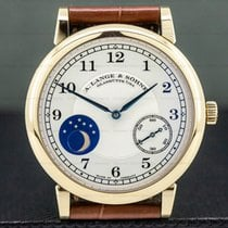 A. Lange & Söhne 1815 37.5mm Silver Arabic numerals United States of America, Massachusetts, Boston