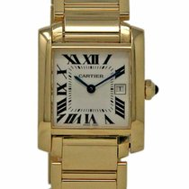 Cartier Tank Française W50014N2 2004 pre-owned