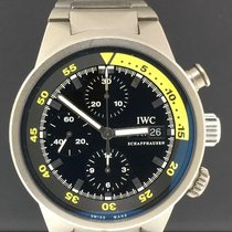 IWC Aquatimer Chronograph pre-owned 42mm Black Chronograph Date Rubber