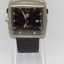 TAG Heuer Professional Golf Watch WAE1111 Goed Titanium Quartz