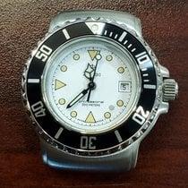 Zodiac Steel 30mm Quartz Zodiac Vintage Divers new