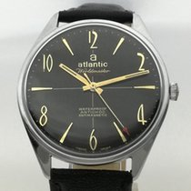 Atlantic 37.40mm Cuerda manual ATLANTIC WORLDMASTER ORIGINAL VINTAGE Serviced and Warranty usados