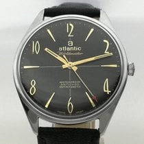 Atlantic 37.40mm Manuale ATLANTIC WORLDMASTER ORIGINAL VINTAGE Serviced and Warranty usato