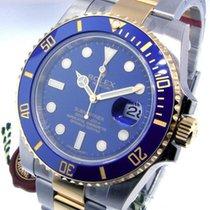 Rolex Submariner Date Goud/Staal 40mm Blauw