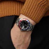 Rolex GMT-Master Сталь 40mm Чёрный
