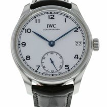 IWC Portuguese Hand-Wound Steel 43mm