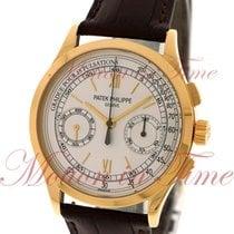 Patek Philippe Chronograph Oro amarillo 39mm Plata Romanos