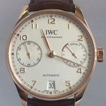 IWC Red gold Automatic Silver Arabic numerals 42mm new Portuguese Automatic