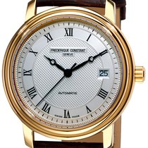 Frederique Constant Classics Automatic Gold/Steel 42.4mm Silver United States of America, New York, Brooklyn