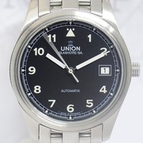 Union Glashütte Acier 36mm Remontage automatique 26-11-07-47-10 occasion