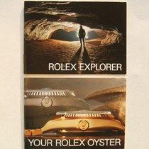 Rolex Set Libretti / Booklet per 16550 e 1016