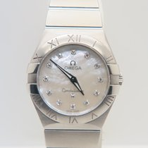 Omega Constellation Factory MOP/Diamond Dial Full Set