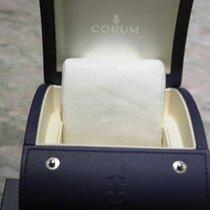 Corum vintage watch box blu leather very nice condition
