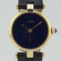 Cartier Must Quartz Silver 18 098923 Lady