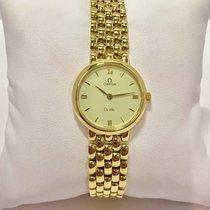 Omega De Ville Ladies Watch SOLID GOLD Ref. BA795.1378
