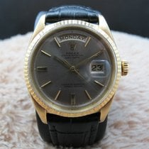 Rolex DAY-DATE 1803 18K Gold with Original Silver Grey Dial