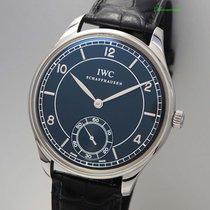 IWC Portugieser Kleine Sekunde IW544501 -Stahl/ Leder +B&P