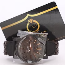 Bulgari Carbon Gold Automatic 40mm Brown Dial 102633 New Nuovo