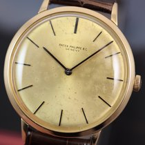Patek Philippe Calatrava #3468 Yellow Gold - Manual Winding