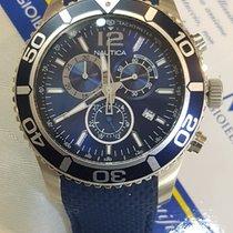 Nautica Chronographe Nautica Dial Blue Sub Diver 100m  Top...