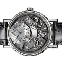 Breguet White gold Automatic Grey 40mm new Tradition