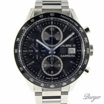 TAG Heuer Carrera Calibre 16 Stål 41mm Svart