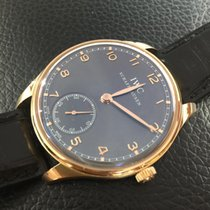 IWC Portuguese Hand-Wound pink gold Full set