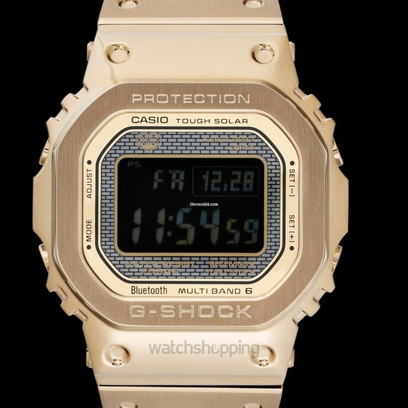 a133330222c3 Casio G-Shock Solar Full Metal Gold - GMW-B5000GD-9JF for  609 for sale  from a Trusted Seller on Chrono24