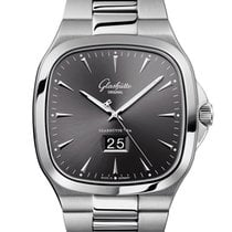 Glashütte Original 2-39-47-12-12-14 Steel Seventies Panorama Date 40mm new