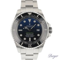 Rolex Chronometer 44mm Automatik 2015 neu Sea-Dweller Deepsea Blau
