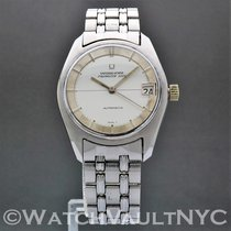 Universal Genève Polerouter Steel 34mm Silver United States of America, New York, White Plains