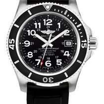 Breitling Superocean II 42 Steel 42mm Black Arabic numerals United States of America, New York, New York