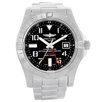Breitling Avenger II GMT Steel 42mm Black Arabic numerals United States of America, Georgia, Atlanta