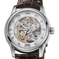 Oris Artelier Skeleton 01 734 7670 4019-07 1 21 73FC new