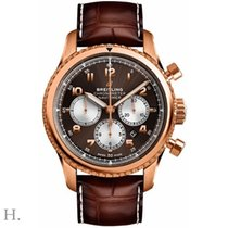 Breitling Rose gold Automatic Bronze 43mm new Navitimer 8