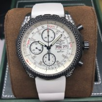 Breitling Bentley GT Steel 45mm White