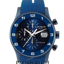 Locman Island Steel 40mm Blue Arabic numerals