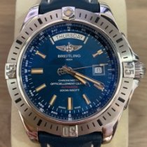 Breitling Galactic 44 Steel 44mm Blue