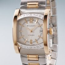 Bulgari Assioma Gold/Steel 34mm Silver