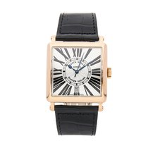 Franck Muller Master Square Rose gold 36mm Silver Roman numerals United States of America, Pennsylvania, Bala Cynwyd