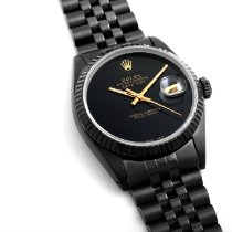 Rolex Datejust 16000-DLV/PVD-Onyx 1980 occasion