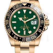 Rolex 116718LN Or jaune GMT-Master II 40mm occasion