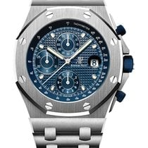 Audemars Piguet Royal Oak Offshore Chronograph Acciaio 42mm Blu Senza numeri Italia, Roma