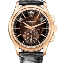 Patek Philippe Annual Calendar Chronograph Oro rosa 42mm Marrón