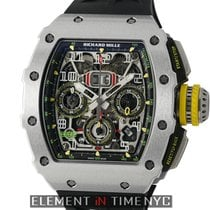 Richard Mille RM 011 Titanium 45mm Transparent Arabic numerals United States of America, New York, New York