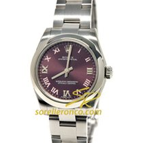 Rolex Oyster Perpetual Red Grape Purple Index