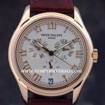 Patek Philippe Annual Calendar rose gold Box & PP Extract...