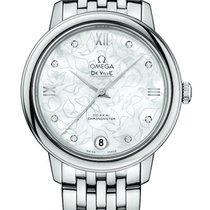 Omega De Ville Prestige Steel 32.7mm Mother of pearl United States of America, New York, Airmont