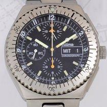투티마 (Tutima) Military Chronograph Titan Lemania 5100 Fliegeruh...