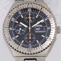Tutima Military Chronograph Titan Lemania 5100 Fliegeruhr...